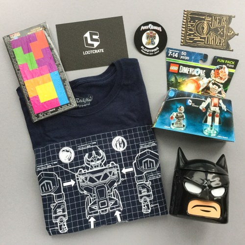 Loot Crate Subscription Box Review + Coupon Code – February 2017