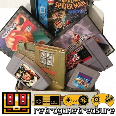 Retro Game Treasure
