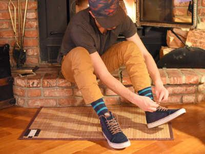Socks and I