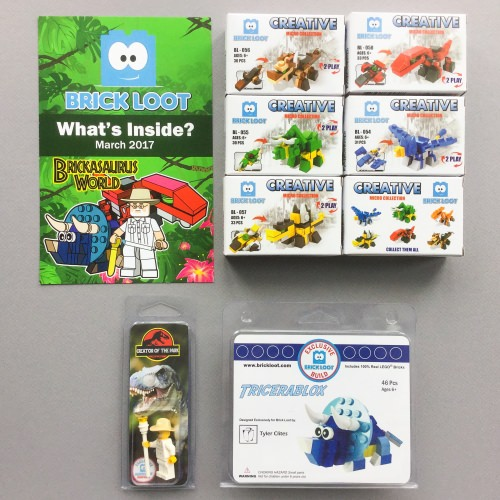 Brick Loot Review + Coupon Code – March 2017