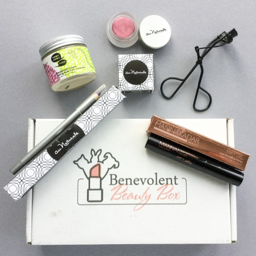 Benevolent Beauty Box Review + Coupon Code – March 2017