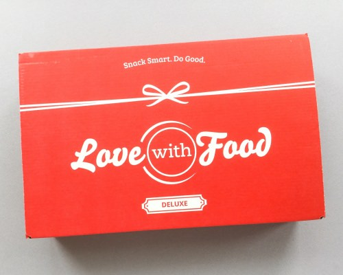 Love With Food Subscription Box Review + Promo Code – March 2017