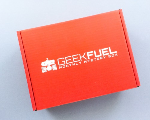 Geek Fuel Subscription Box Review + Discount – March 2017