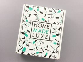 Home Made Luxe Subscription Box Review + Coupon Code – March 2017