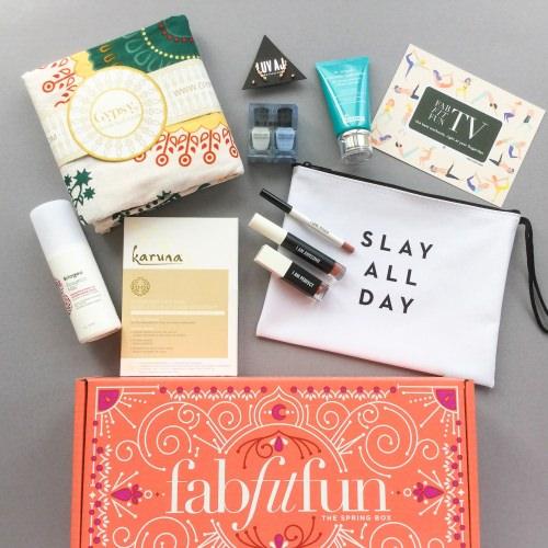 FabFitFun Subscription Box Review + Coupon Code – Spring 2017