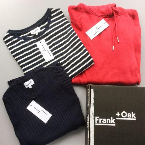 Frank + Oak Style Plan Subscription Box Review + $30 Off Discount – April 2017