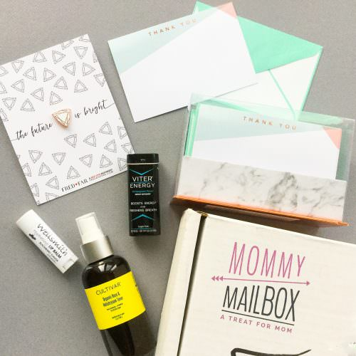 Mommy Mailbox Subscription Box Review + Coupon Code – April 2017