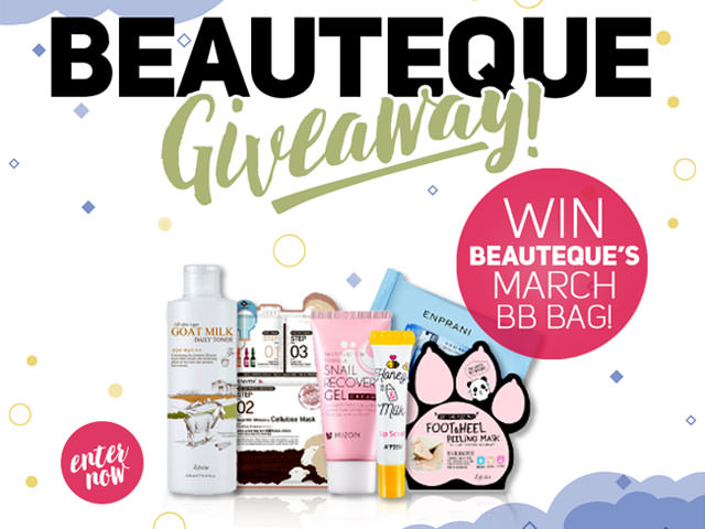 Enter the Beauteque BB Bag Giveaway!