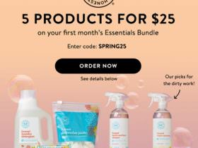 The Honest Company Essentials Bundle Coupon Code – 5 Products for $25!