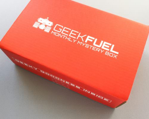 Geek Fuel Subscription Box Review + Discount – May 2017