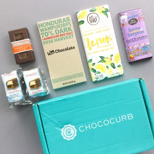 Chococurb Subscription Box Review + Promo Code – May 2017