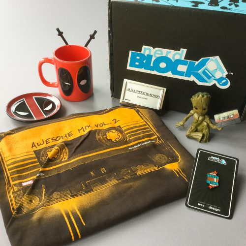 Nerd Block Classic Subscription Box Review + Coupon Code – May 2017