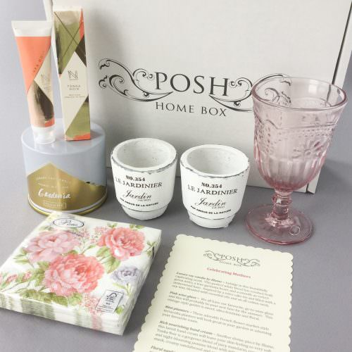 Posh Home Box Subscription Box Review – May 2017