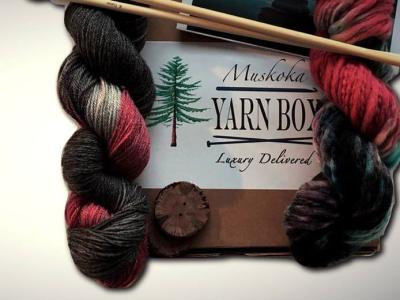 Muskoka Yarn Box