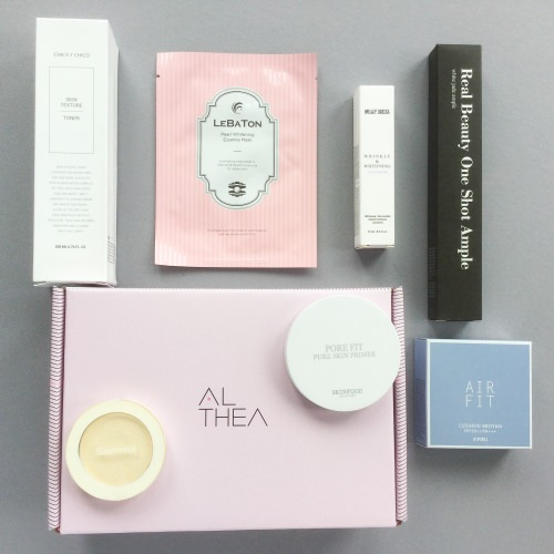 Althea Korea Beauty Box Review + Discount – June 2017