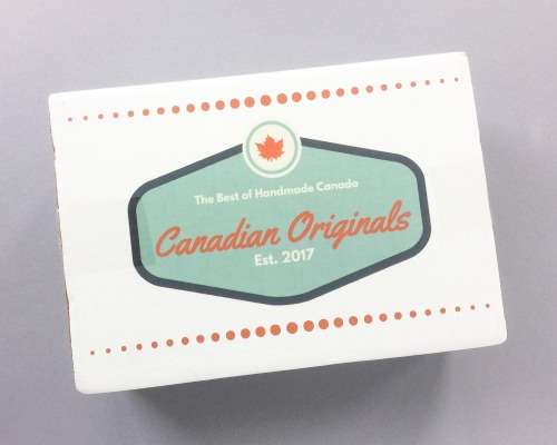 Canadian Originals Subscription Box Review + Coupon Code & GIVEAWAY – July 2017