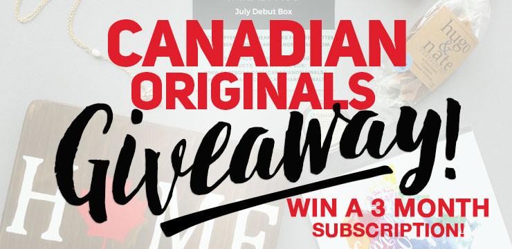 Canadian Originals Giveaway