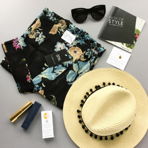 The Zoe Report Box of Style Review + Promo Code – Summer 2017