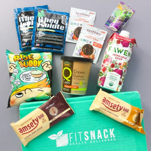 Fit Snack Subscription Box Review + 50% Off First Month – June 2017