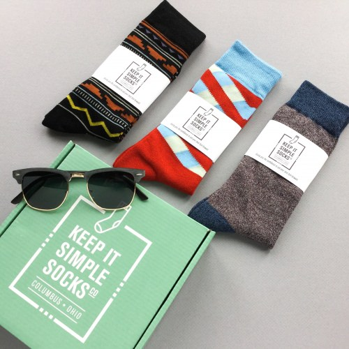 Keep It Simple Socks Subscription Box Review + Coupon Code – July 2017