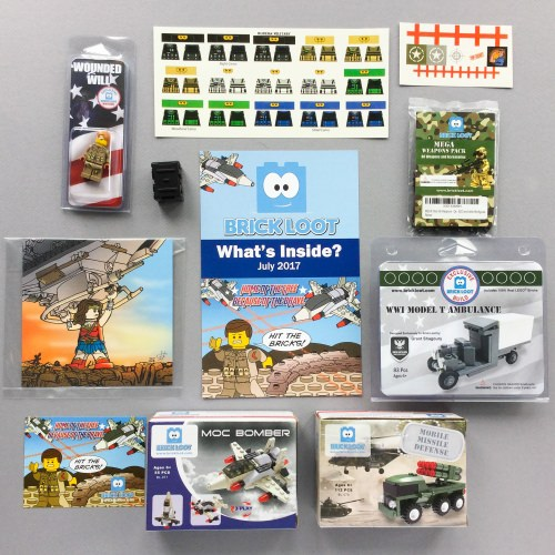 Brick Loot Subscription Box Review + Coupon Code – July 2017