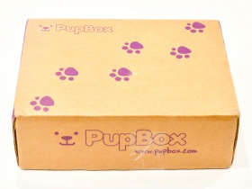 PupBox Subscription Box Review + Coupon Code – July 2017