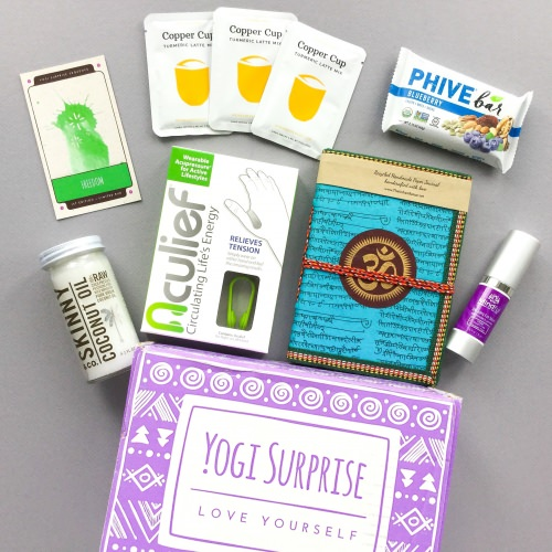 Yogi Surprise Subscription Box Review + Coupon Code – July 2017