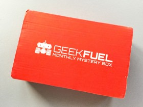 Geek Fuel Subscription Box Review + Discount – June 2017