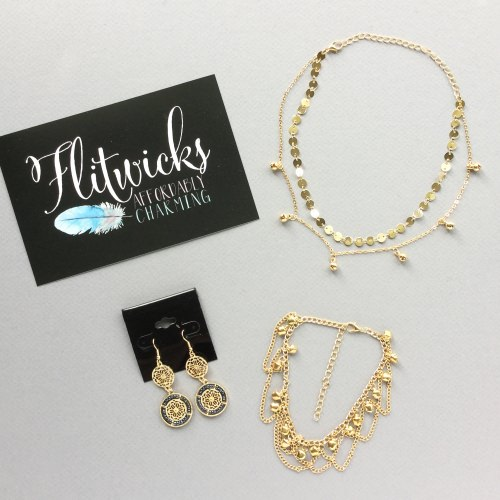 Flitwicks Jewelry Subscription Box Review + Promo Code – July 2017