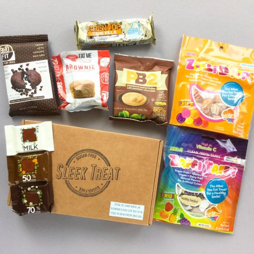 Sleek Treat Subscription Box Review + Promo Code – July 2017