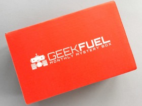 Geek Fuel Subscription Box Review + Discount – July 2017