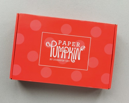 Paper Pumpkin Subscription Box Review + Promo Code – August 2017