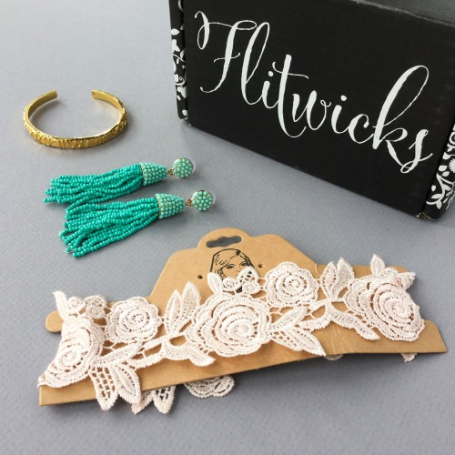Flitwicks Jewelry Subscription Box Review + Promo Code – August 2017