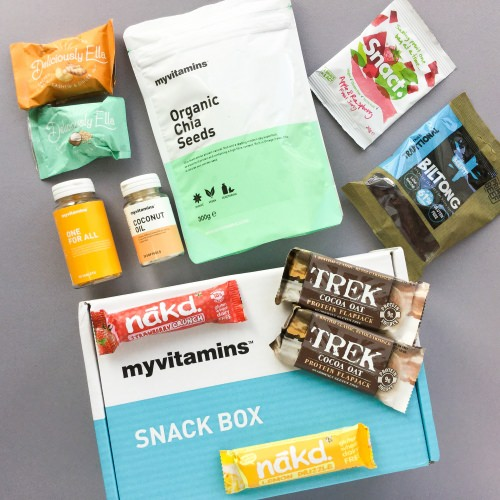 myvitamins Snack Box Subscription Box Review + Coupon Code – September 2017
