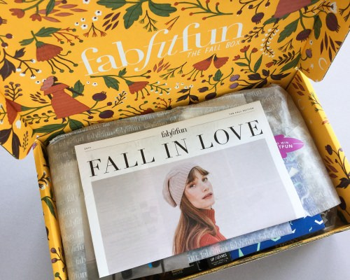 FabFitFun Subscription Box Review + Coupon Code – Fall 2017