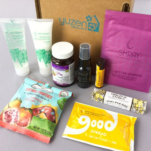 Yuzen Subscription Box Review + Promo Code – Fall 2017