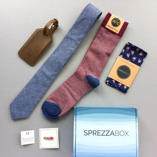 SprezzaBox Subscription Box Review + Coupon Code – August 2017