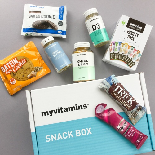 myvitamins Snack Box Subscription Box Review + Coupon Code – August 2017