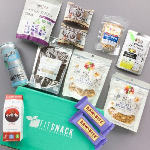 Fit Snack Subscription Box Review + Discount – August 2017