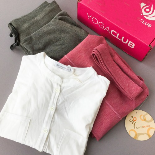 YogaClub Subscription Box Review + Coupon Code – October 2017