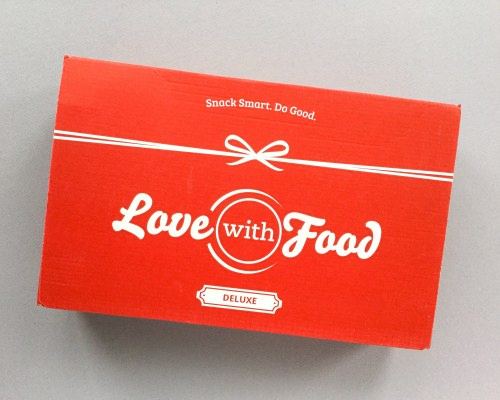 Love With Food Subscription Box Review + Promo Code – October 2017