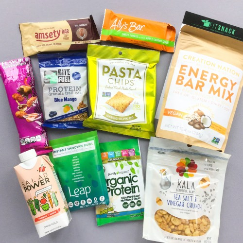 Fit Snack Subscription Box Review + Discount – September 2017