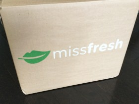 MissFresh Subscription Box Review + Promo Code – October 2017