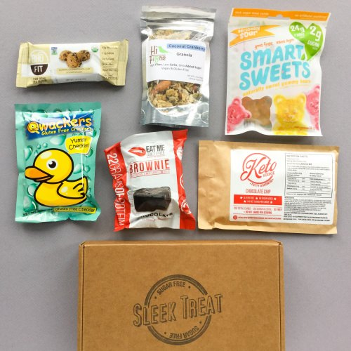 Sleek Treat Subscription Box Review + Promo Code – September 2017
