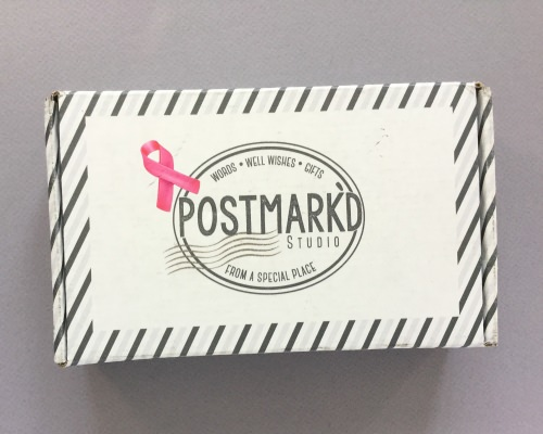Postmark'd Studio Subscription Box Review + Coupon Code -October 2017