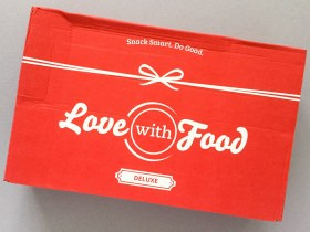 Love With Food Subscription Box Review + Promo Code – September 2017
