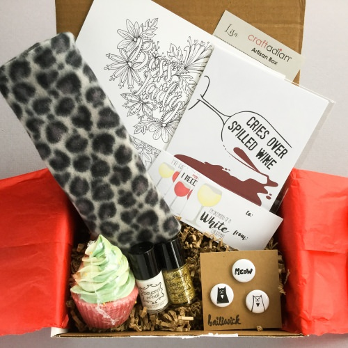 Craftadian Artisan Subscription Box Review + Coupon Code – November 2017