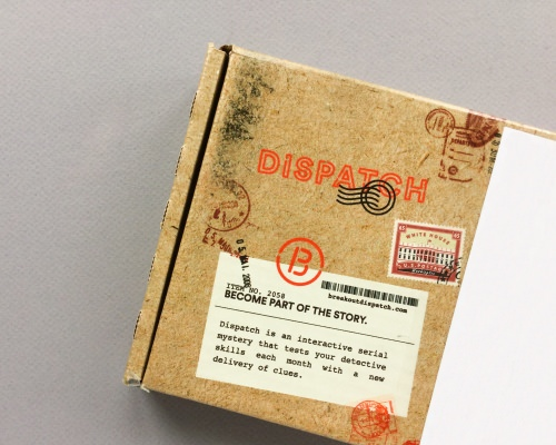 Dispatch by Breakout Games Subscription Box Review – November 2017