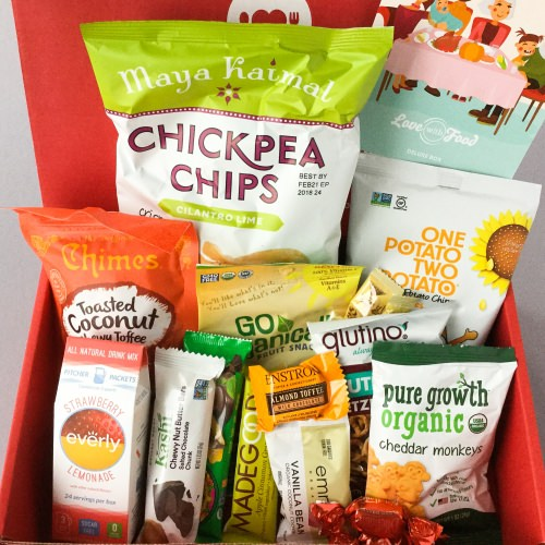 Love With Food Subscription Box Review + Promo Code – November 2017