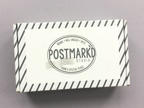 Postmark'd Studio Subscription Box Review + Coupon Code – November 2017
